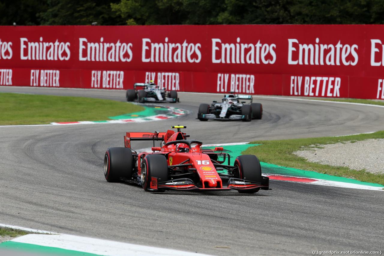 GP ITALIA, 08.09.2019 - Gara, Charles Leclerc (MON) Ferrari SF90