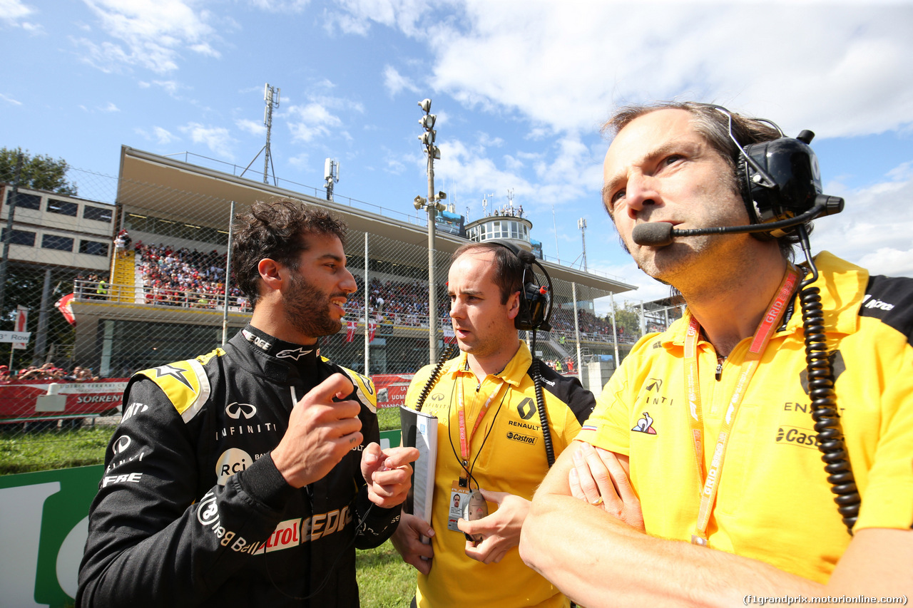 GP ITALIA, 08.09.2019 - Gara, Daniel Ricciardo (AUS) Renault Sport F1 Team RS19