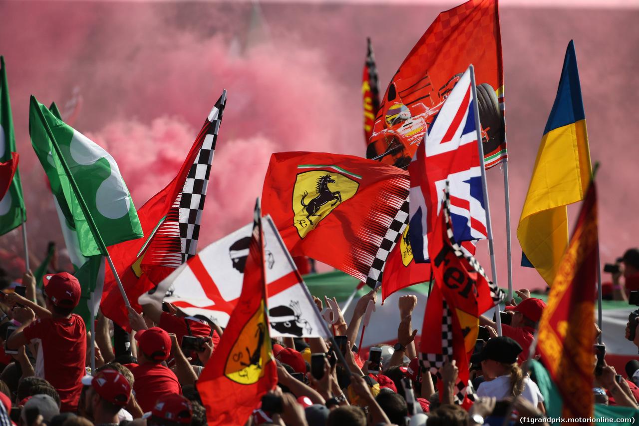 GP ITALIA, 08.09.2019 - Gara, Fans