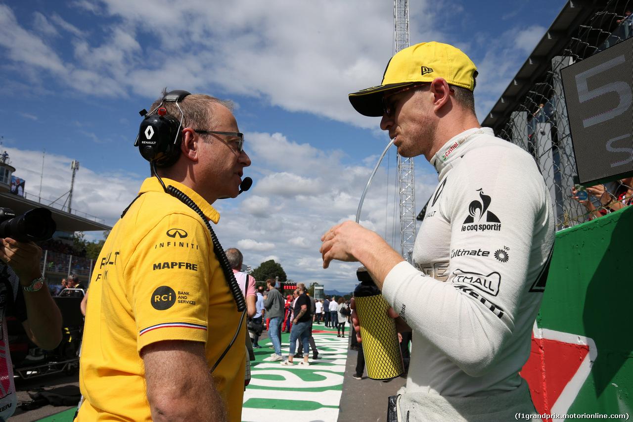 GP ITALIA, 08.09.2019 - Gara, Nico Hulkenberg (GER) Renault Sport F1 Team RS19