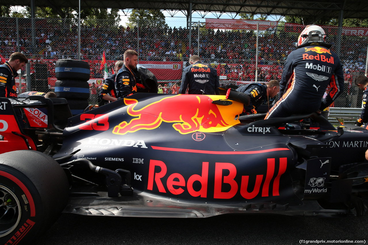 GP ITALIA, 08.09.2019 - Gara, Max Verstappen (NED) Red Bull Racing RB15