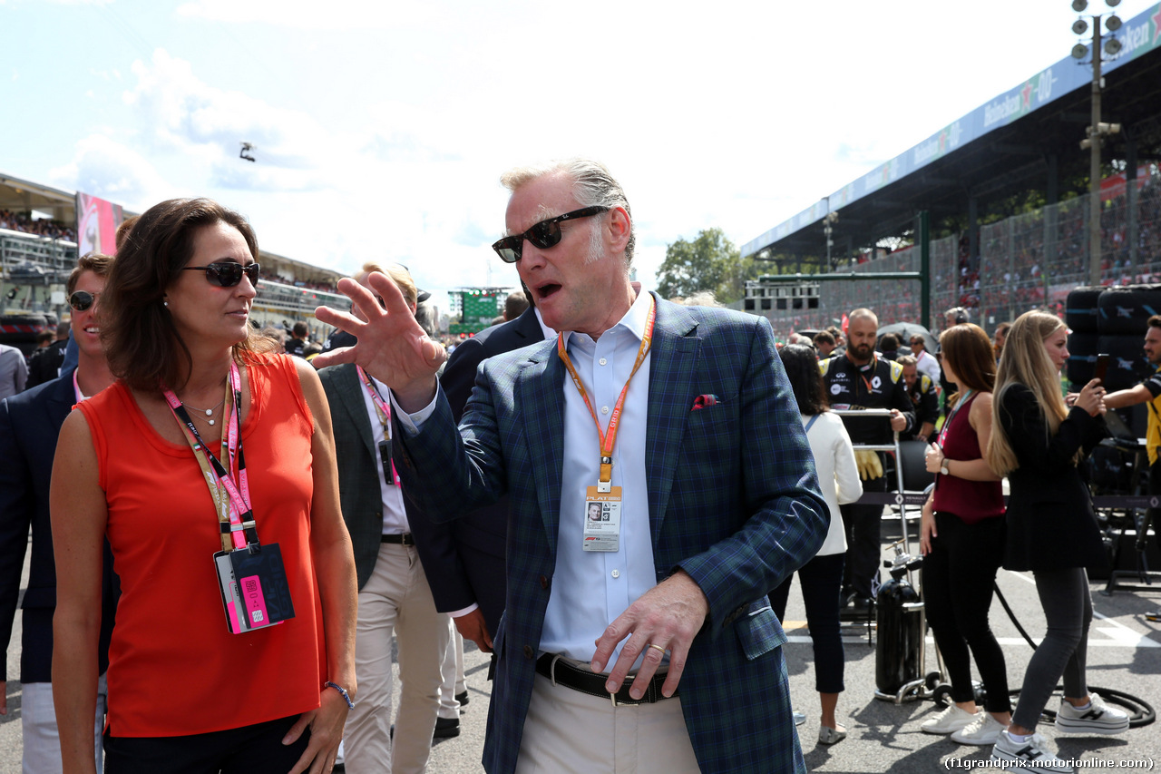 GP ITALIA, 08.09.2019 - Gara, Sean Bratches, Formula 1 Managing Director, Commercial Operations