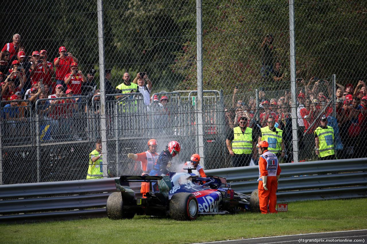 GP ITALIA, 08.09.2019 - Gara, Daniil Kvyat (RUS) Scuderia Toro Rosso STR14 retires from the race