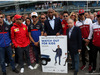 GP ITALIA, 08.09.2019 - Jean Todt (FRA), President FIA, Didier Drogba (FRA) e drivers.