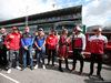 GP ITALIA, 08.09.2019 - Federica Masolin (ITA) Sky e Antonio Giovinazzi (ITA) Alfa Romeo Racing C38