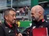 GP ITALIA, 08.09.2019 - Gara, Masashi Yamamoto (JPN) Honda Racing F1 Managing Director e Adrian Newey (GBR), Red Bull Racing , Technical Operations Director