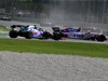 GP ITALIA, 08.09.2019 - Gara, Crash, Pierre Gasly (FRA) Scuderia Toro Rosso STR14 e Lance Stroll (CDN) Racing Point F1 Team RP19