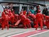 GP ITALIA, 08.09.2019 - Gara, Pit stop, Sebastian Vettel (GER) Ferrari SF90