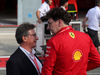 GP ITALIA, 07.09.2019 - Qualifiche, Louis Carey Camilleri, CEO of Ferrari  e Mattia Binotto (ITA) Ferrari Team Principal