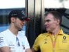 GP ITALIA, 07.09.2019 - Esteban Ocon (FRA) Mercedes AMG F1 Reserve Driver Nick Chester (GBR) Renault Sport Formula One Team Technical Director