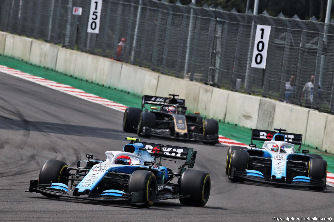 GP MESSICO, Robert Kubica (POL) Williams Racing FW42. 27.10.2019.