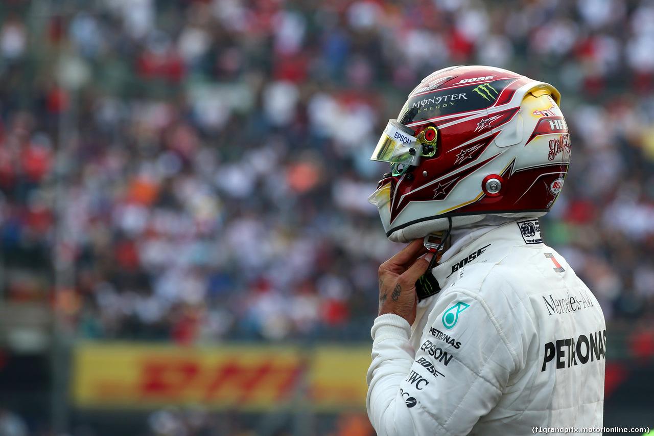 GP MESSICO, Lewis Hamilton (GBR) Mercedes AMG F1 W10. 27.10.2019.
