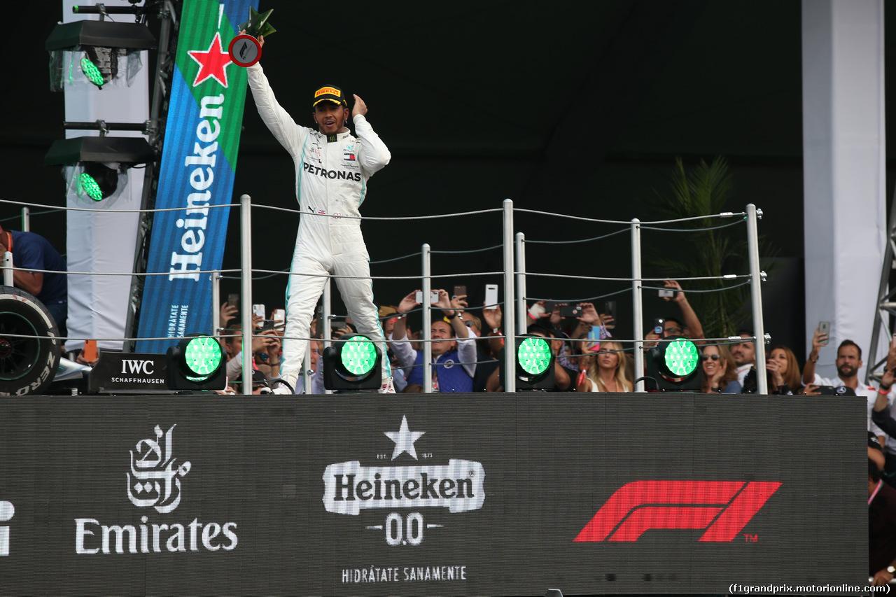 GP MESSICO, 1st place Lewis Hamilton (GBR) Mercedes AMG F1 W10. 27.10.2019.