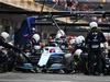 GP MESSICO, Robert Kubica (POL) Williams Racing FW42 makes a pit stop. 27.10.2019.