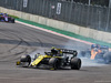 GP MESSICO, Nico Hulkenberg (GER) Renault F1 Team RS19 locks up under braking. 27.10.2019.