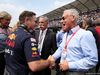 GP MESSICO, (L to R): Christian Horner (GBR) Red Bull Racing Team Principal with Chase Carey (USA) Formula One Group Chairman e Greg Maffei (USA) Liberty Media Corporation President e Chief Executive Officer on the grid. 27.10.2019.