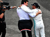 GP MESSICO, Gara winner Lewis Hamilton (GBR) Mercedes AMG F1 celebrates with Toto Wolff (GER) Mercedes AMG F1 Shareholder e Executive Director in parc ferme. 27.10.2019.