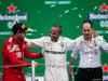 GP MESSICO, 1st place Lewis Hamilton (GBR) Mercedes AMG F1 W10, with Sebastian Vettel (GER) Ferrari SF90 e Valtteri Bottas (FIN) Mercedes AMG F1 W10. 27.10.2019.