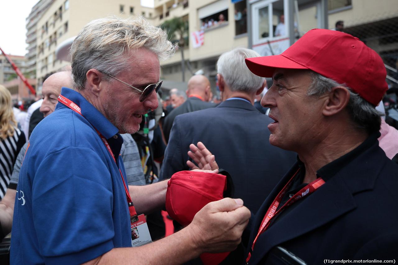 GP MONACO, 26.05.2019 - Gara, Eddie Irvine e Jean Alesi (FRA)