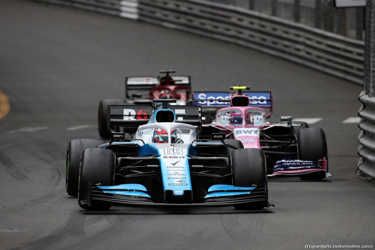 GP MONACO, 26.05.2019 - Gara, George Russell (GBR) Williams Racing FW42