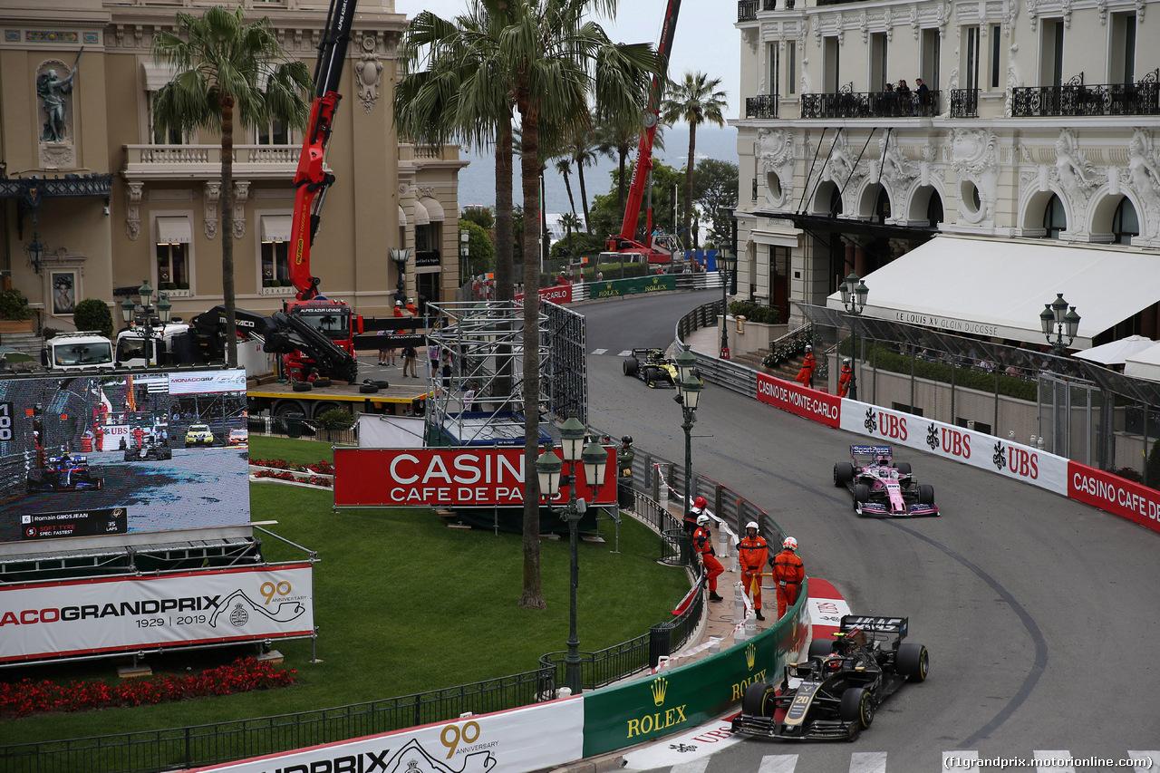 GP MONACO, 26.05.2019 - Gara, Kevin Magnussen (DEN) Haas F1 Team VF-19