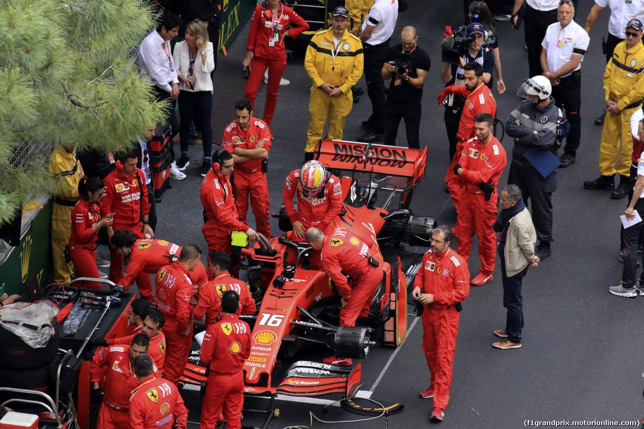 GP MONACO, 26.05.2019 - Gara, Charles Leclerc (MON) Ferrari SF90