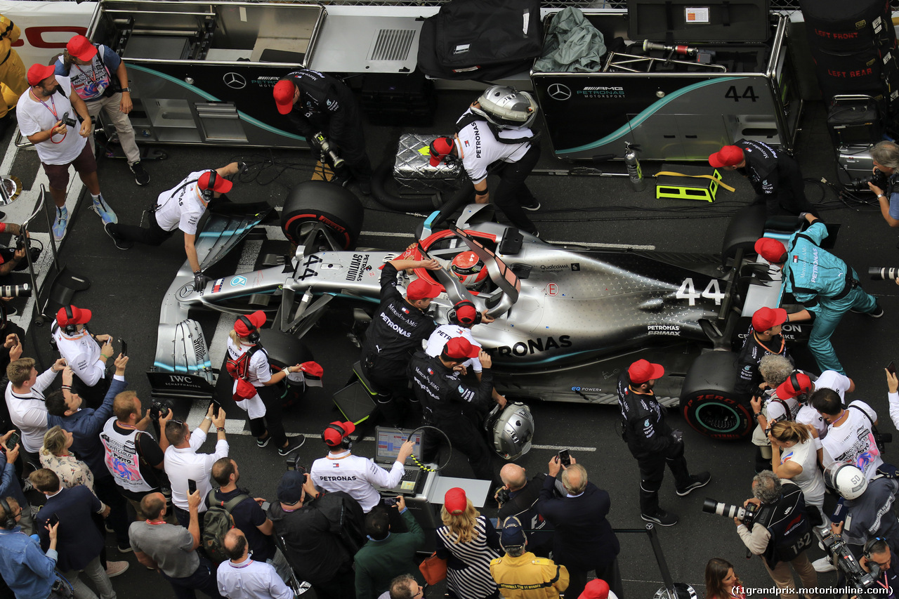 GP MONACO, 26.05.2019 - Gara, Lewis Hamilton (GBR) Mercedes AMG F1 W10