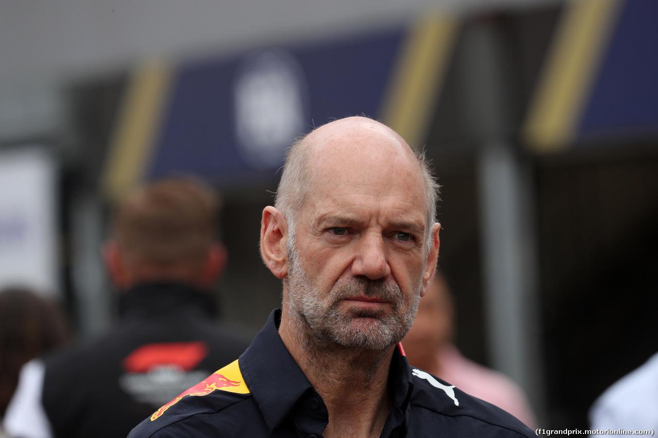GP MONACO, 26.05.2019 - Gara, Adrian Newey (GBR), Red Bull Racing , Technical Operations Director