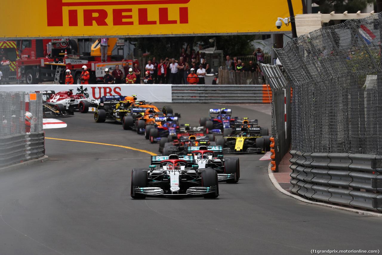 GP MONACO, 26.05.2019 - Gara, Start of the race