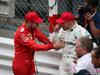 GP MONACO, 26.05.2019 - Gara, 2nd place Sebastian Vettel (GER) Ferrari SF90 andf 3rd place Valtteri Bottas (FIN) Mercedes AMG F1 W010