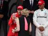GP MONACO, 26.05.2019 - Gara, 2nd place Sebastian Vettel (GER) Ferrari SF90 with S.A.S La Princesse Charlene De Monaco
