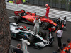 GP MONACO, 26.05.2019 - Gara, 3rd place Valtteri Bottas (FIN) Mercedes AMG F1 W010, Lewis Hamilton (GBR) Mercedes AMG F1 W10 vincitore e 2nd place Sebastian Vettel (GER) Ferrari SF90