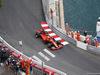 GP MONACO, 26.05.2019 - Gara, Charles Leclerc (MON) Ferrari SF90 with a puncture