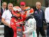 GP MONACO, 26.05.2019 - Gara, 2nd place Sebastian Vettel (GER) Ferrari SF90 e Lewis Hamilton (GBR) Mercedes AMG F1 W10 vincitore