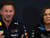 GP MONACO, 23.05.2019 - Conferenza Stampa, Christian Horner (GBR), Red Bull Racing Team Principal anc Claire Williams (GBR) Williams Deputy Team Principal.