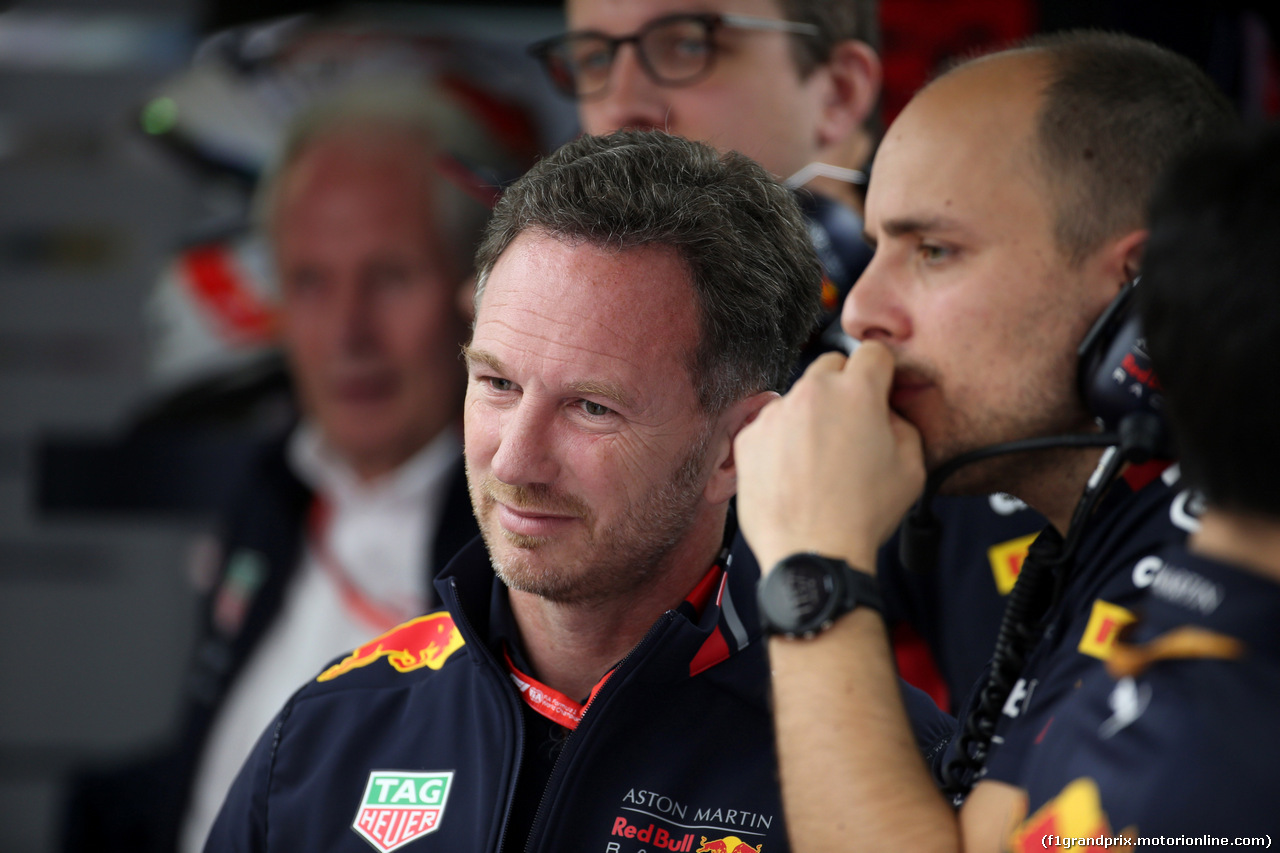 GP MONACO, 25.05.2019 - Prove Libere 3, Christian Horner (GBR), Red Bull Racing Team Principal