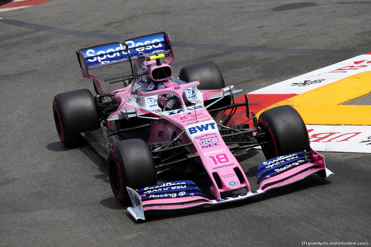 GP MONACO, 25.05.2019 - Prove Libere 3, Sergio Perez (MEX) Racing Point F1 Team RP19