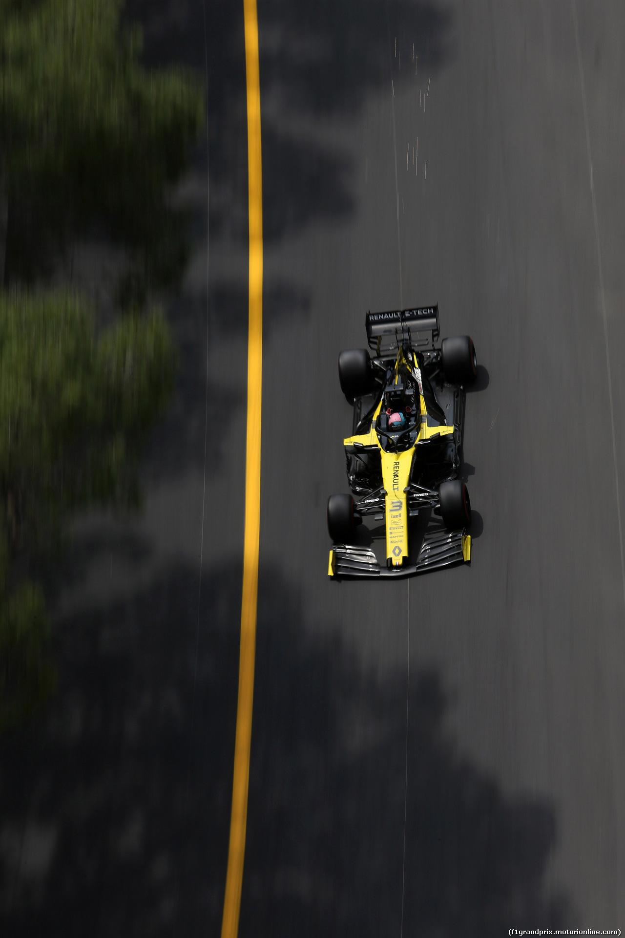 GP MONACO, 25.05.2019 - Prove Libere 3, Daniel Ricciardo (AUS) Renault Sport F1 Team RS19