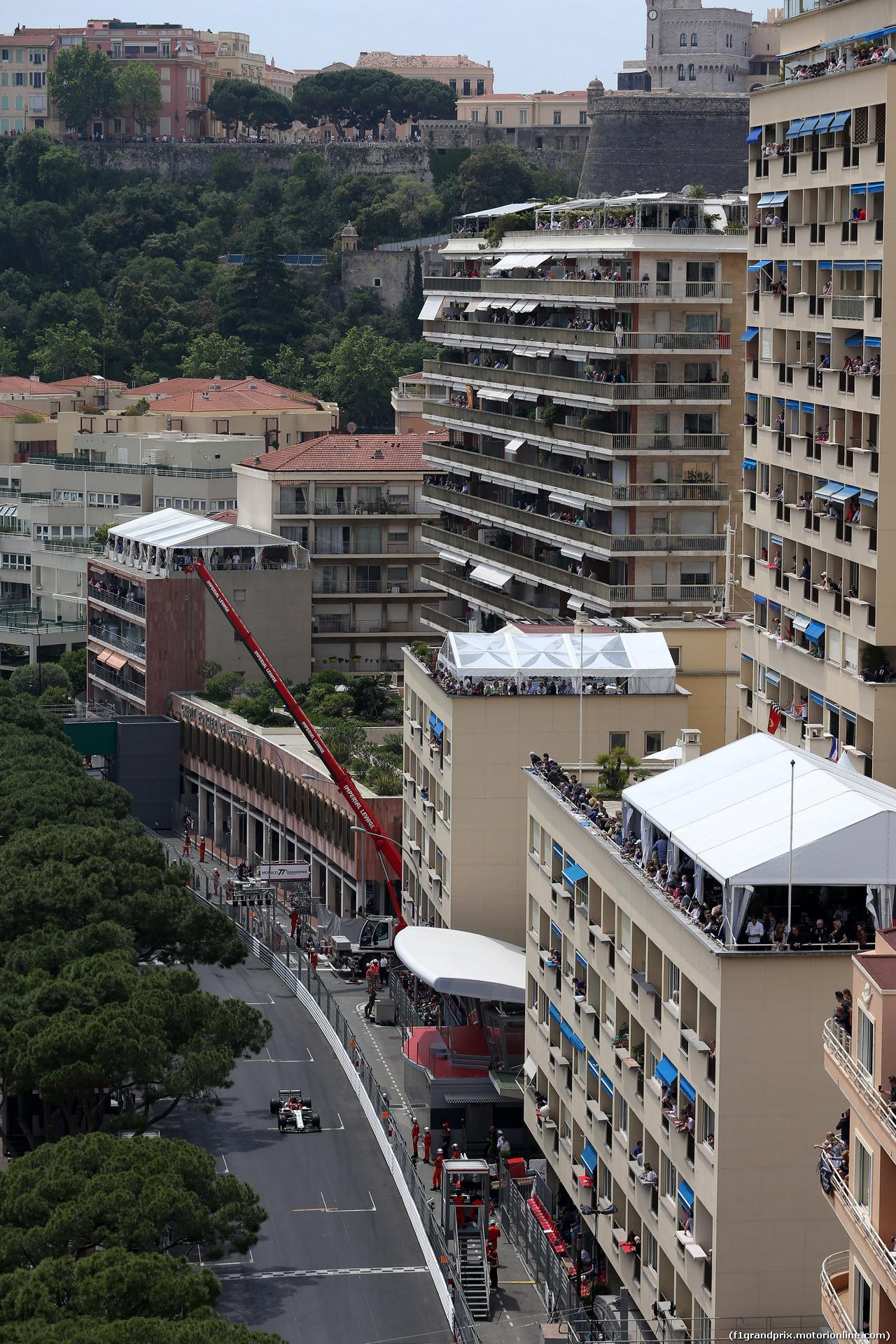 GP MONACO, 25.05.2019 - Prove Libere 3, Kimi Raikkonen (FIN) Alfa Romeo Racing C38