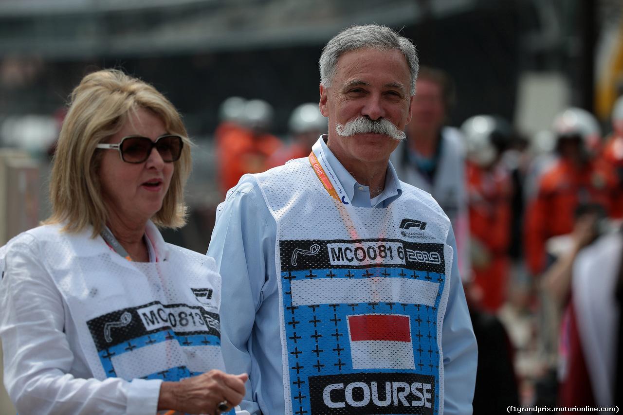GP MONACO, 25.05.2019 - Prove Libere 3, Chase Carey (USA) Formula One Group Chairman