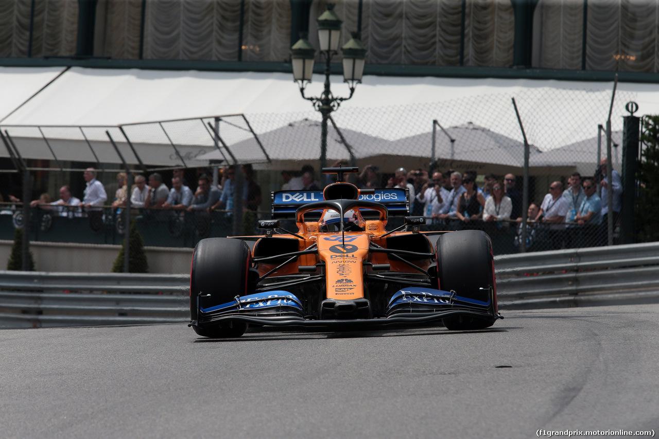 GP MONACO, 25.05.2019 - Prove Libere 3, Carlos Sainz Jr (ESP) Mclaren F1 Team MCL34