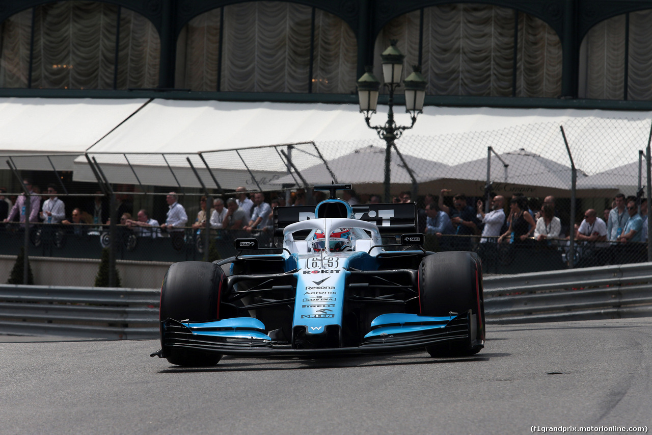 GP MONACO, 25.05.2019 - Prove Libere 3, George Russell (GBR) Williams Racing FW42