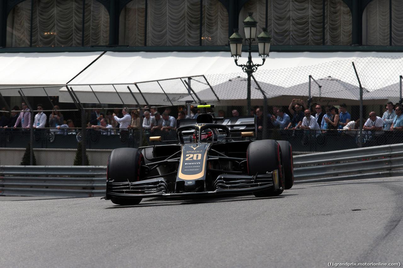 GP MONACO, 25.05.2019 - Prove Libere 3, Kevin Magnussen (DEN) Haas F1 Team VF-19