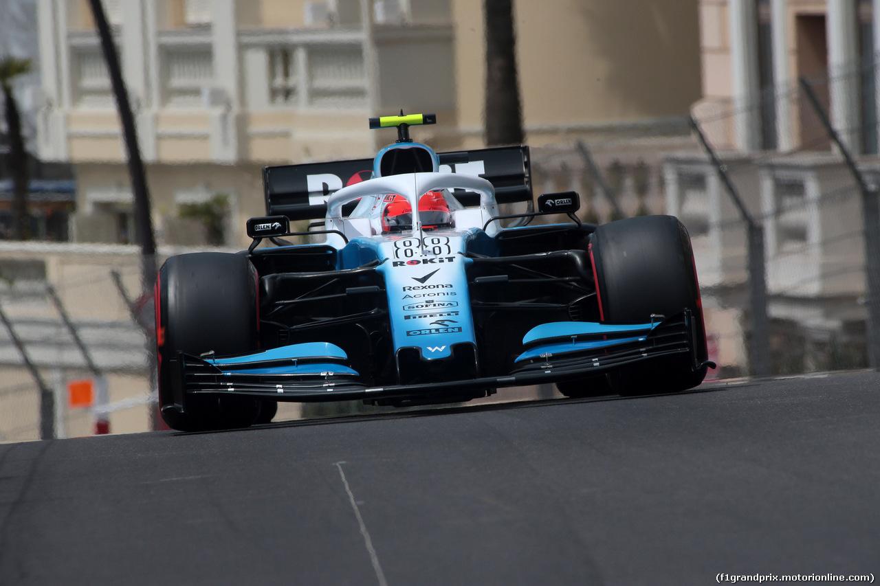 GP MONACO, 25.05.2019 - Prove Libere 3, Robert Kubica (POL) Williams Racing FW42