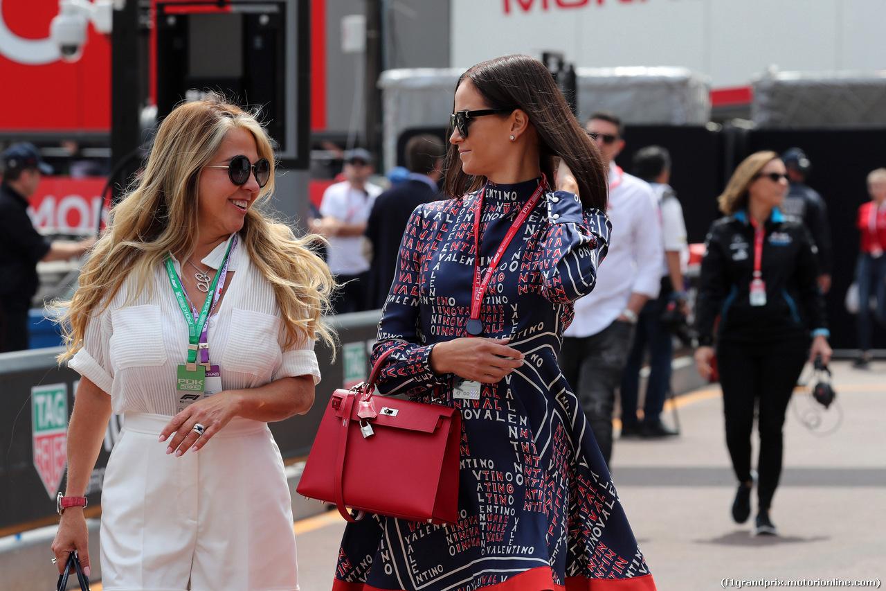 GP MONACO, 25.05.2019 - Prove Libere 3, Minttu Raikkonen, wife of Kimi Raikkonen (FIN)