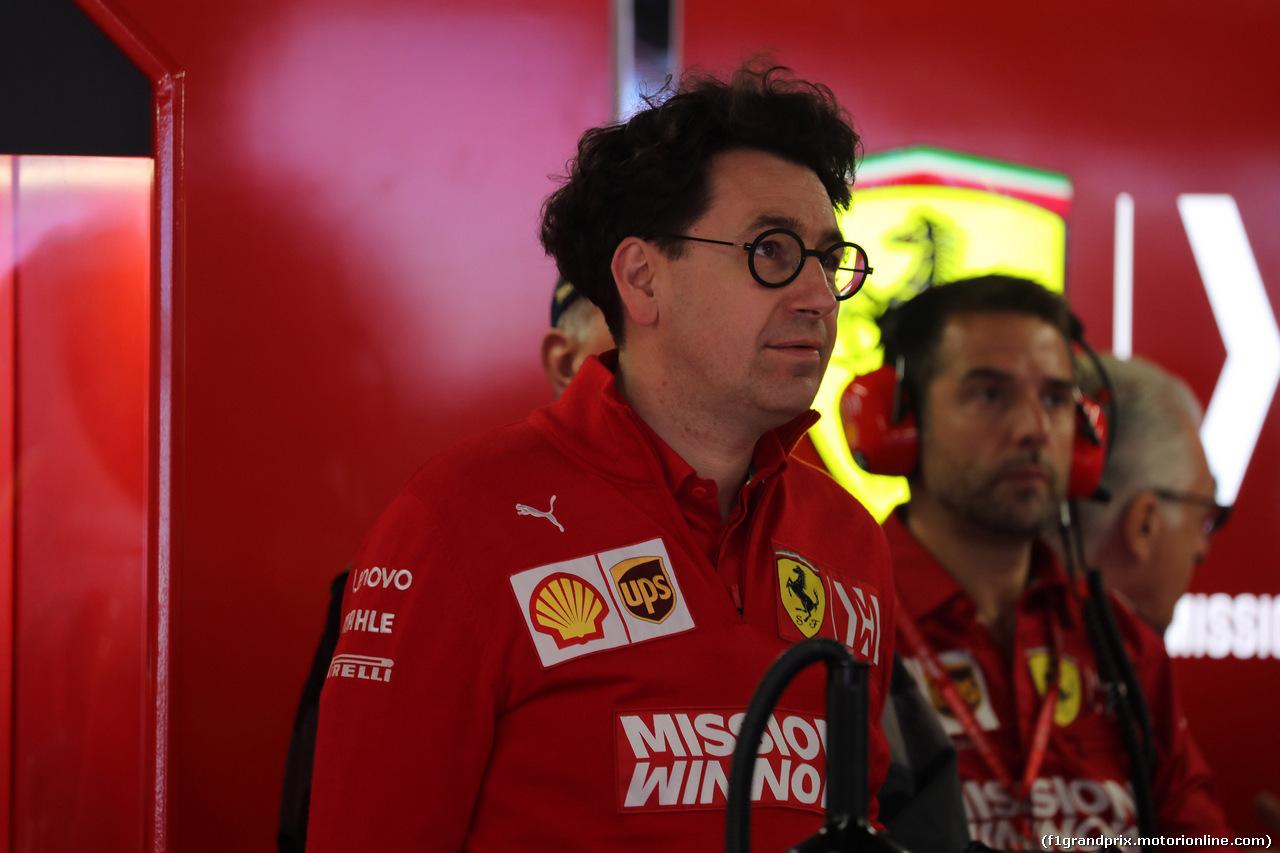 GP MONACO, 25.05.2019 - Prove Libere 3, Mattia Binotto (ITA) Ferrari Team Principal