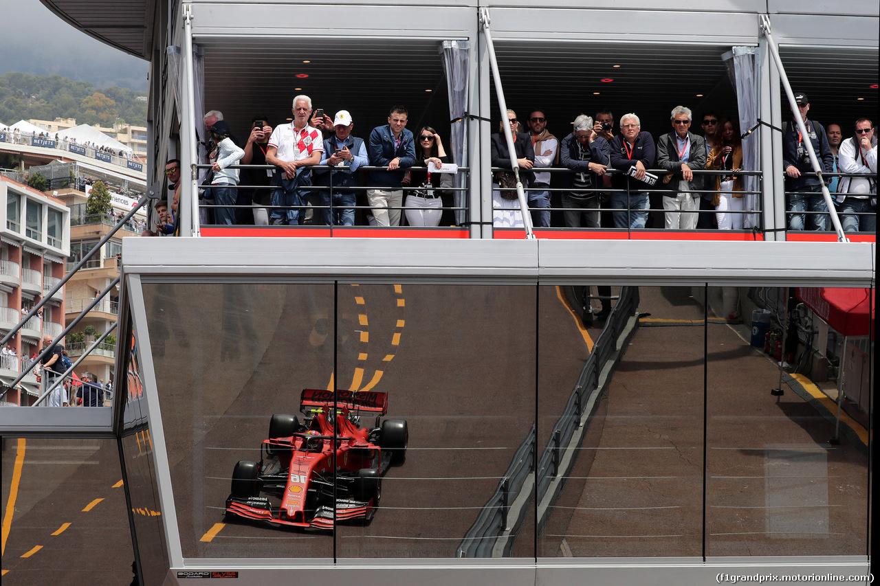 GP MONACO, 25.05.2019 - Prove Libere 3, Charles Leclerc (MON) Ferrari SF90