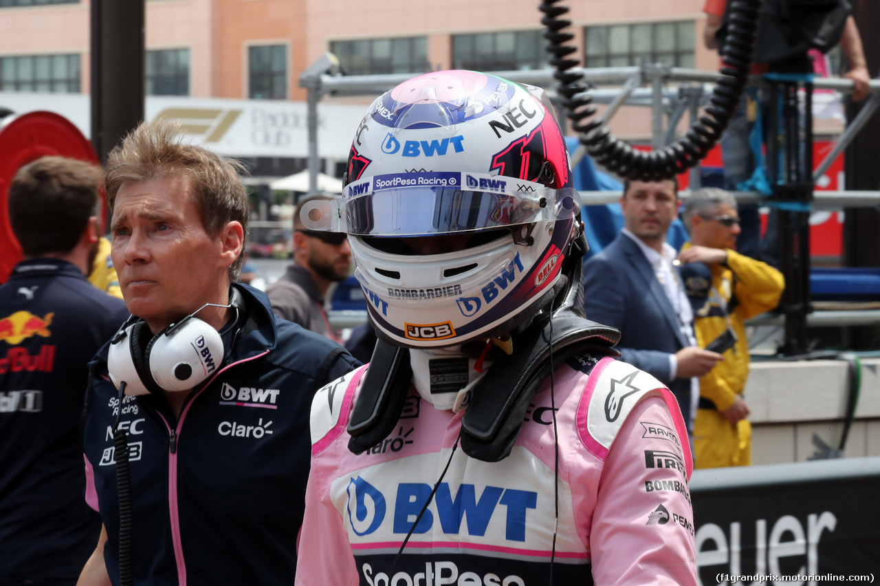 GP MONACO, 25.05.2019 - Prove Libere 3, Sergio Perez (MEX) Racing Point F1 Team RP19