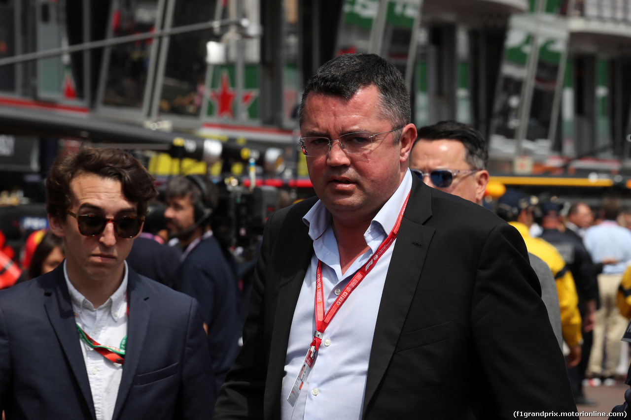 GP MONACO, 25.05.2019 - Prove Libere 3, Eric Boullier (FRA)