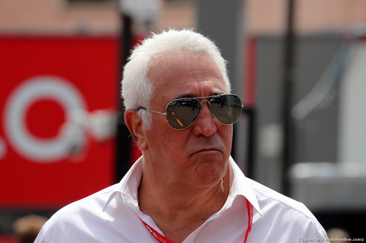 GP MONACO, 25.05.2019 - Prove Libere 3, Lawrence Stroll (CAN) Racing Point F1 Team Investor
